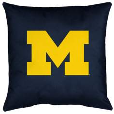 NCAA Michigan Wolverines Locker Room Pillow