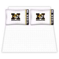NCAA Missouri Tigers Micro Fiber Sheet Set