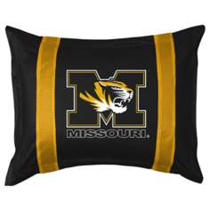 NCAA Missouri Tigers Sidelines Pillow Sham