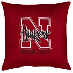 NCAA Nebraska Cornhuskers Locker Room Pillow