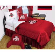 NCAA Ohio State Buckeyes Micro Fiber Sheet Set