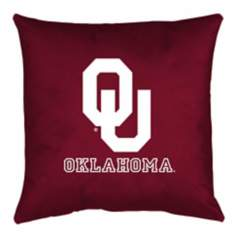 NCAA Oklahoma Sooners Locker Room Twin Pillow