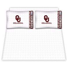 NCAA Oklahoma Sooners Micro Fiber Sheet Set