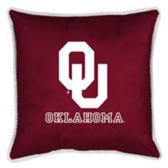 NCAA Oklahoma Sooners Sidelines Pillow