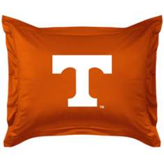 NCAA Tennessee Volunteers Locker Room Pillow Sham