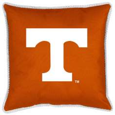 NCAA Tennessee Volunteers Sidelines Throw Pillow