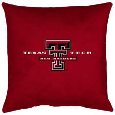 NCAA Texas Tech Red Raiders Locker Room Throw Pillow