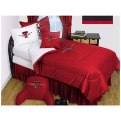 NCAA Texas Tech Red Raiders Micro Fiber Sheet Set