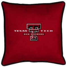 NCAA Texas Tech Red Raiders Sidelines Throw Pillow