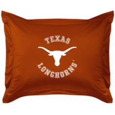 NCAA Texas Longhorns Locker Room Pillow Sham