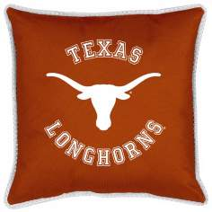 NCAA Texas Longhorns Sidelines Throw Pillow