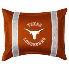 NCAA Texas Longhorns Sidelines Pillow Sham