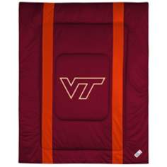 NCAA Virginia Tech Hokies Sidelines Comforter
