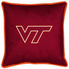 NCAA Virginia Tech Hokies Sidelines Throw Pillow