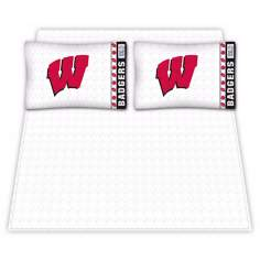 NCAA Wisconsin Badgers Micro Fiber Sheet Set