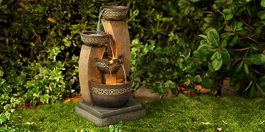 60% savings on indoor fountains and outdoor fountains from 55 Downing Street.