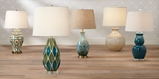 Save up to 70% plus free shipping on traditional and contemporary lamps for every room in our home lighting sale.