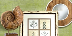 Save up to 80% on home furnishings and decor inspired by nature.