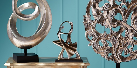 Save up to 73% on decorative sculptures and home decor from 55 Downing Street.
