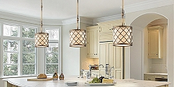 Save up to 65% on traditional and contemporary ceiling lights in our home lighting sale.