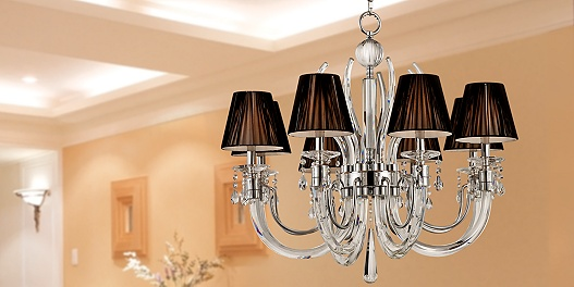 Save up to 70% on traditional and contemporary crystal chandeliers.