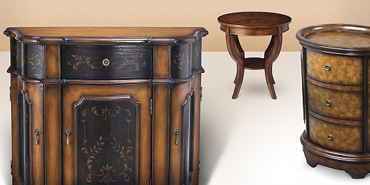 Save up to 70% off accent tables and chests of drawers on 55 Downing Street.