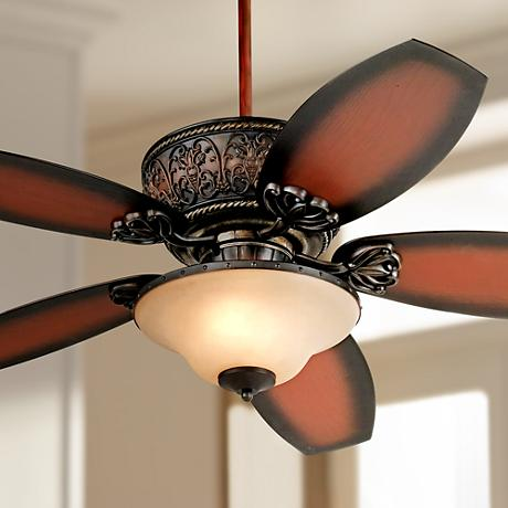 "52"" Casa Troubadour™ Outdoor Ceiling Fan with Light"