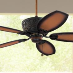 "52"" Casa Troubadour™ Dark Walnut Ceiling Fan"