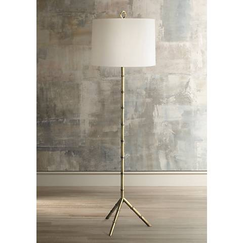 jonathan adler meurice floor lamp 00955 lamps plus. Black Bedroom Furniture Sets. Home Design Ideas