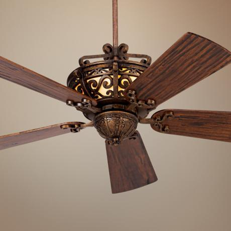 "54"" CraftmadeToscona Peruvian Finish Ceiling Fan"