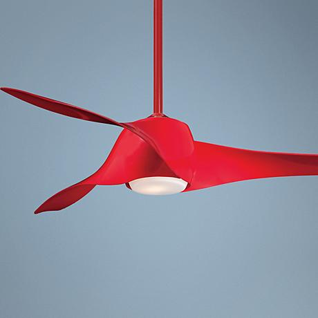 "58"" Artemis High Pure Red Ceiling Fan"