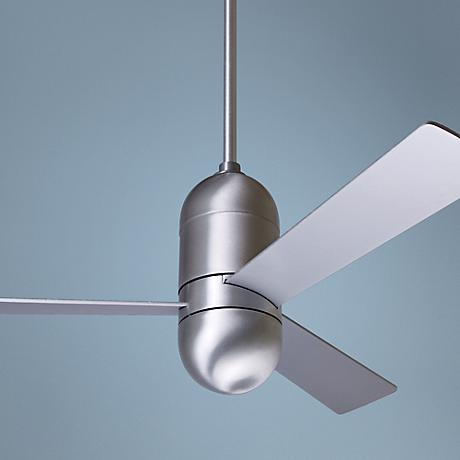 "42"" Modern Fan Cirrus Aluminum Finish Ceiling Fan"