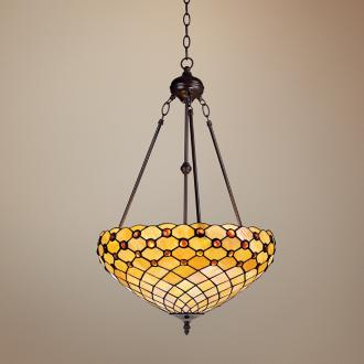 Hanging Tiffany Pendant Chandelier
