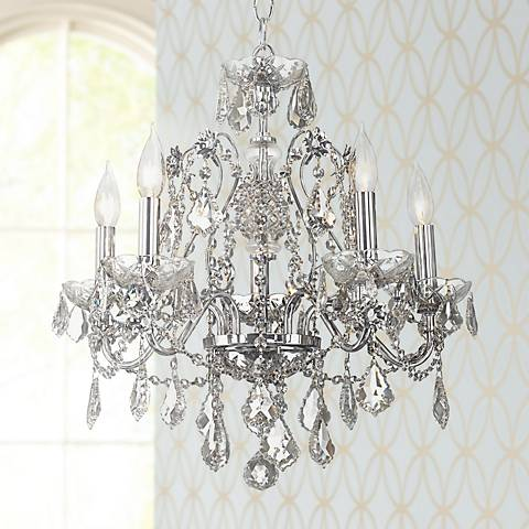 James R. Moder New Orleans Crystal Chandelier - #03767 | Lamps Plus