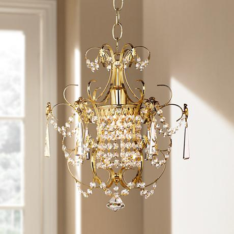"Schonbek Century Collection 12 1/2"" Wide Pendant Chandelier"