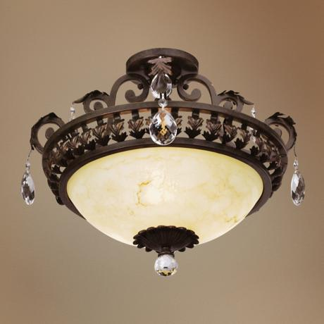 "Seville™ Collection  18"" Wide Ceiling Light Fixture"