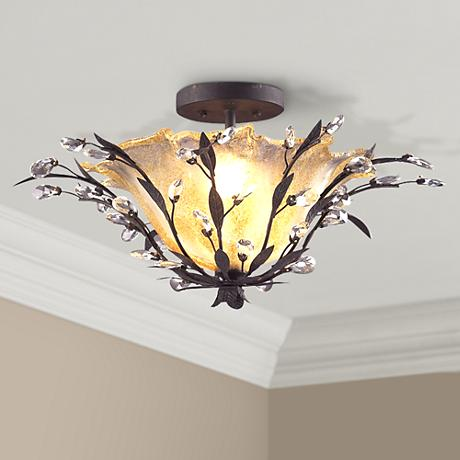 "Circeo Collection 24"" Wide Ceiling Light Fixture"