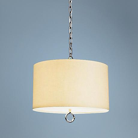 Jonathan Adler Meurice Collection Nickel Pendant Light