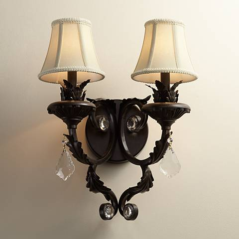 Kathy Ireland Ramas de Luces Double Wall Sconce - Kathy Ireland Ramas De Luces Double Wall Sconce - #07220 Lamps Plus
