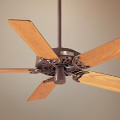 "52"" Classic Original Chestnut Brown Ceiling Fan"