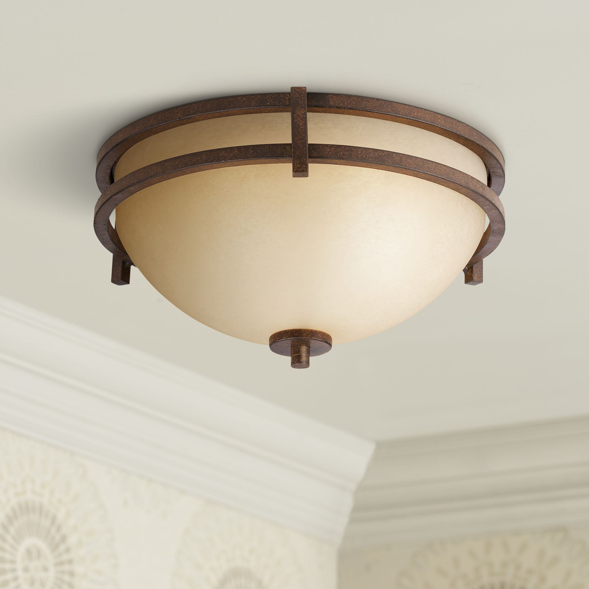 Oak Valley Collection 15  Wide Ceiling Light Fixture & Close to Ceiling Light Fixtures - Decorative Lighting | Lamps Plus azcodes.com