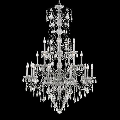 "Schonbek Century Collection 37"" Wide Crystal Chandelier"