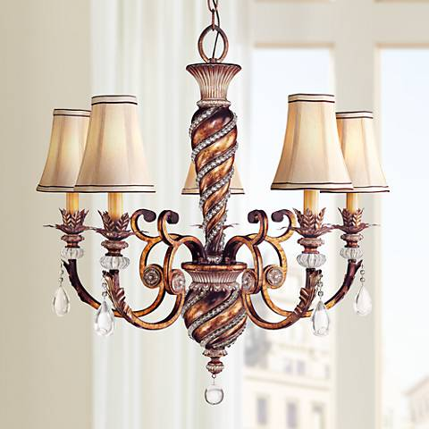 "Minka Aston Court 28 1/4"" Wide 5-Light Chandelier"