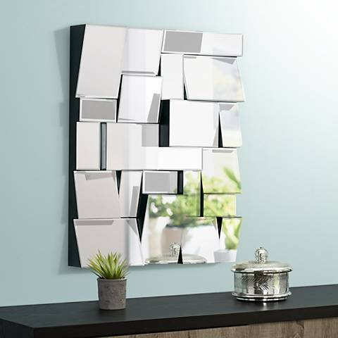 "Cyan Design Kings Piece II Clear 25"" x 31"" Wall Mirror"
