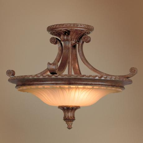"Stirling Castle Collection 19"" Wide Ceiling Light Fixture"