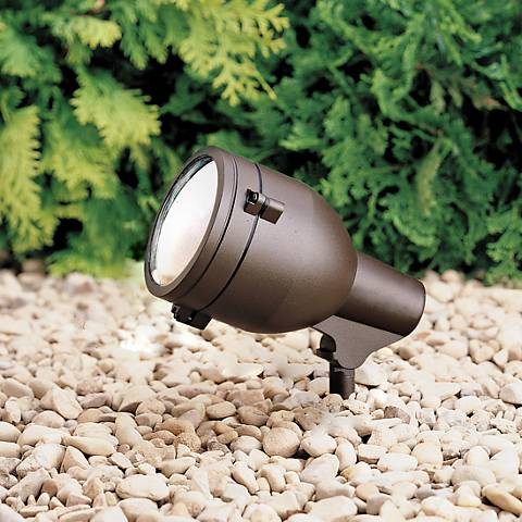 "Kichler Architectural Bronze 5"" Wide Landscape Accent Light"