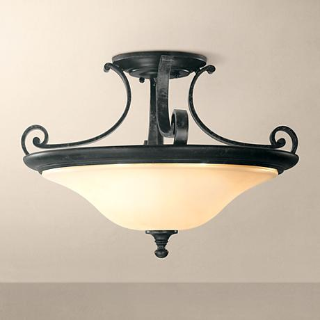 "Feiss Cervantes Collection 18"" Wide Ceiling Light Fixture"
