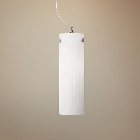 "LBL Juniper 4 1/2"" Wide Polished Chrome Mini Pendant"