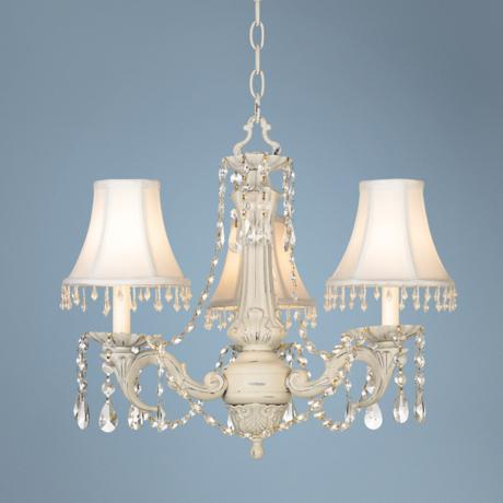 Kathy Ireland Chateau de Conde 3-Light Chandelier