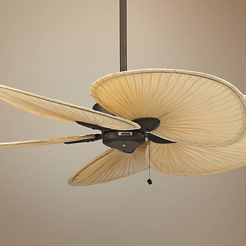"52"" Fanimation Windpointe Bronze and Palm Ceiling Fan"
